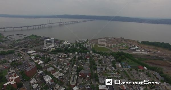 Sleepy Hollow Tappan Zee Bridge Westchester County New York Drone Video