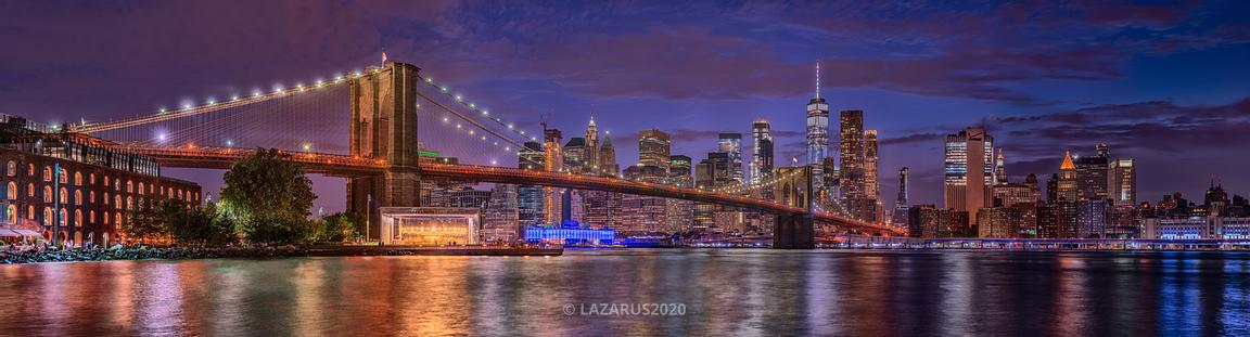 Blue Hour in DUMBO