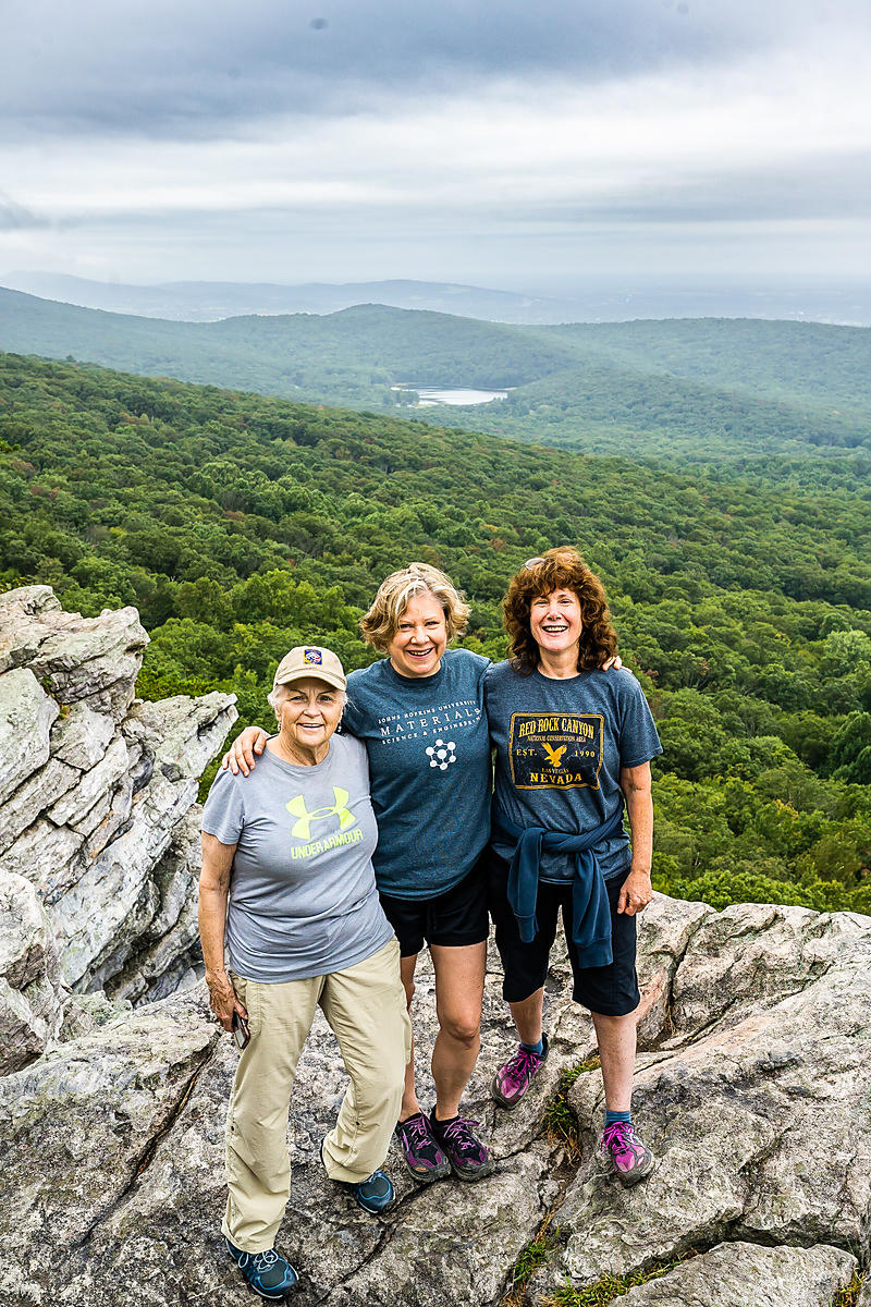 Three Teachers on a Hike