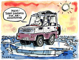 Polar Bear's SUV