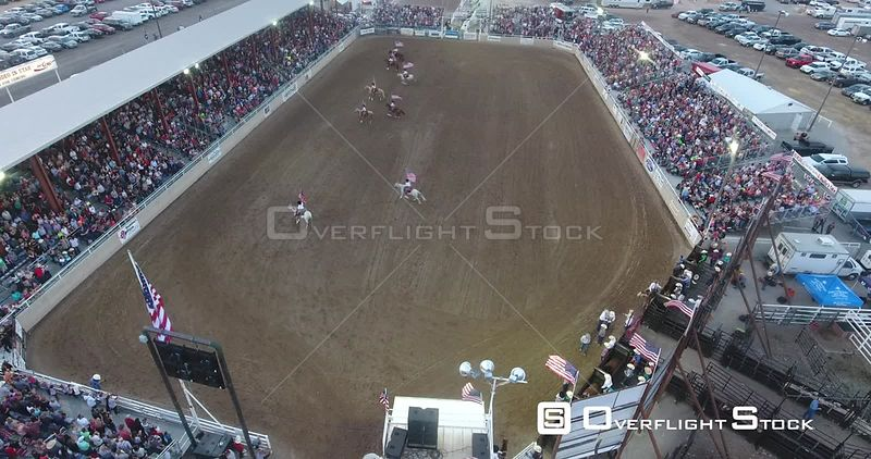 Drone Video Golden Spike Rodeo Tremonton Utah