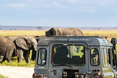 Amboseli Elephant Research Project Vehicle