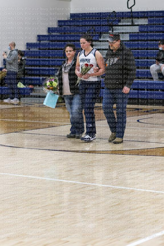1-26 Senior Night vs Standing Rock