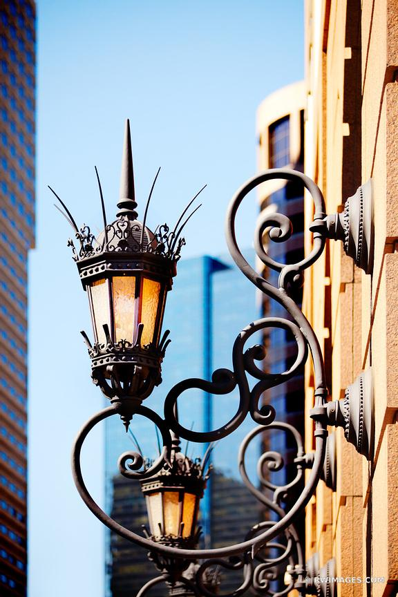 OLD STREET LAMP BOSTON COLOR VERTICAL