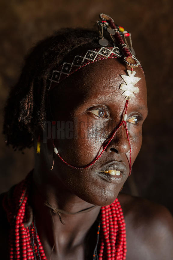 Portrait of a Dassanech Woman