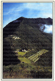 #107 View of the Inca site of Choquequirao