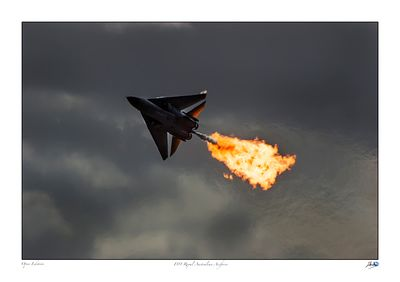 F111 doing a dump and burn