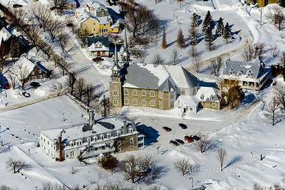Village de Deschambault Quebec Canada in Winter