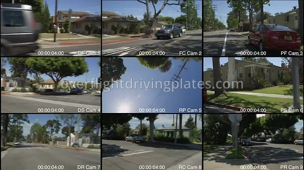 Upscale Residential  Santa Monica California USA - Driving Plate Preview 2012