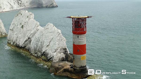 The Needles Lighthouse Isle of Wight UK