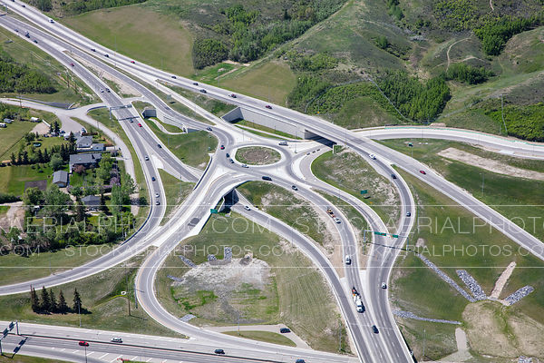 Sarcee Trail at Highway 1 Interchange