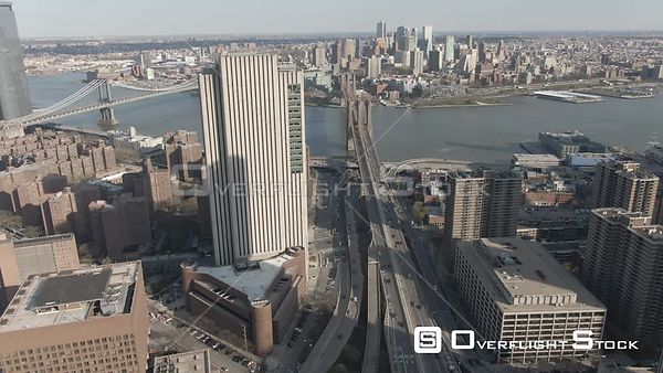 Brooklyn Bridge Manhattan New York During the Covid-19 Pandemic