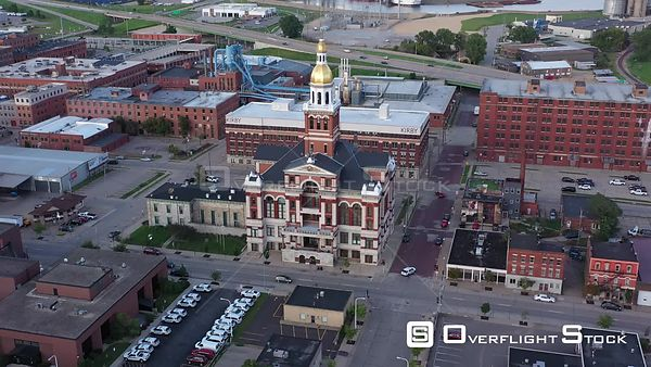 Dubuque County Courthouse and Old Jail, Dubuque, Iowa, USA
