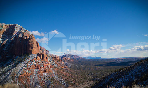 Kolob Canyons in Zion National Park, Utah