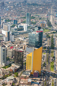 Central Downtown Commercial and Financial Districts Capital City Lima Peru