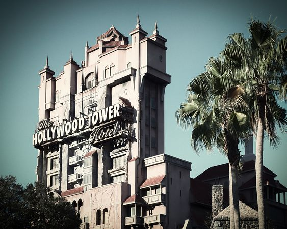 Tower of Terror | Vintage Color Print