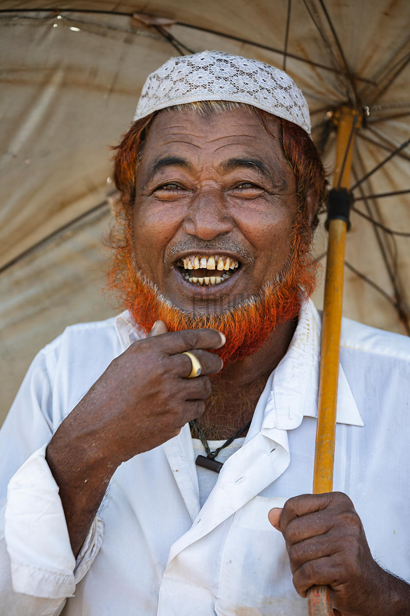 Portrait of a Businessman at the Nazirartek Fishery Ghat