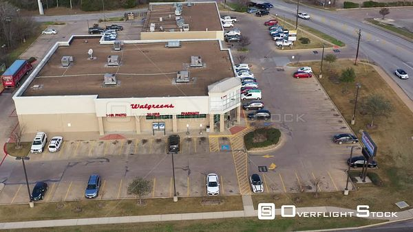 Typical Walgreens Pharmacy on a Normal Day, Bryan, Texas, USA