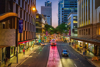 Brisbane City at Dusk