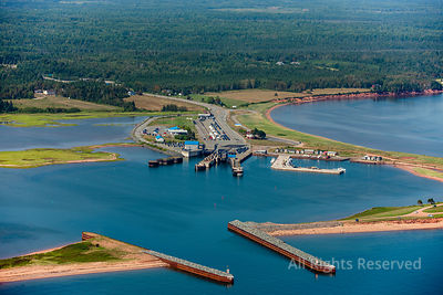 Wood Islands Ferry Terminal Prince Edward Island Canada