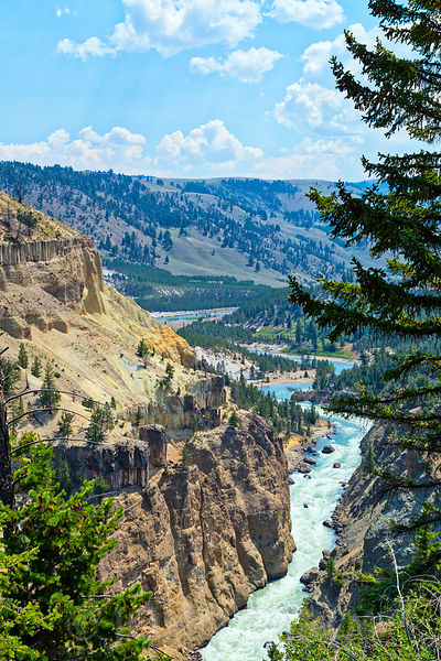 Yellowstone River Canyon #3