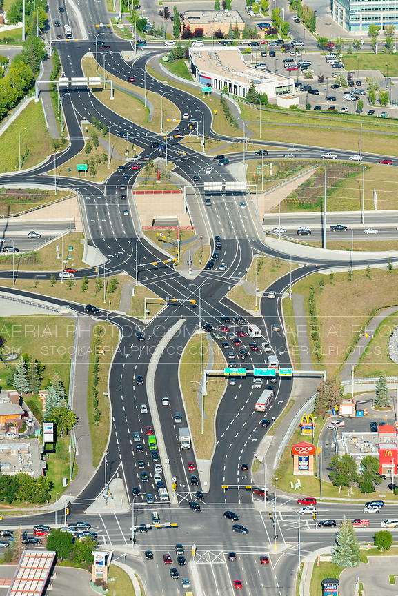 Diverging Diamond Interchange, Calgary