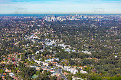 Pymble to Sydney Skyline