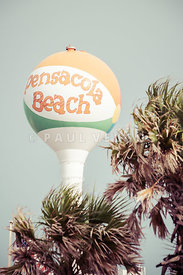 Beach Ball Water Tower Pensacola Florida Photo
