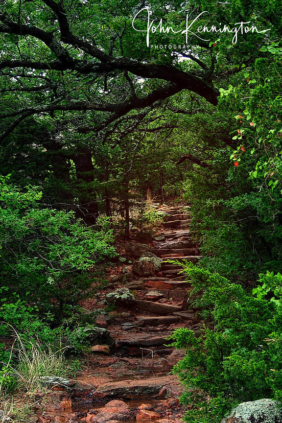 Elk Mountain Trail, Wichita Mountains National Wildlife Refuge, Oklahoma