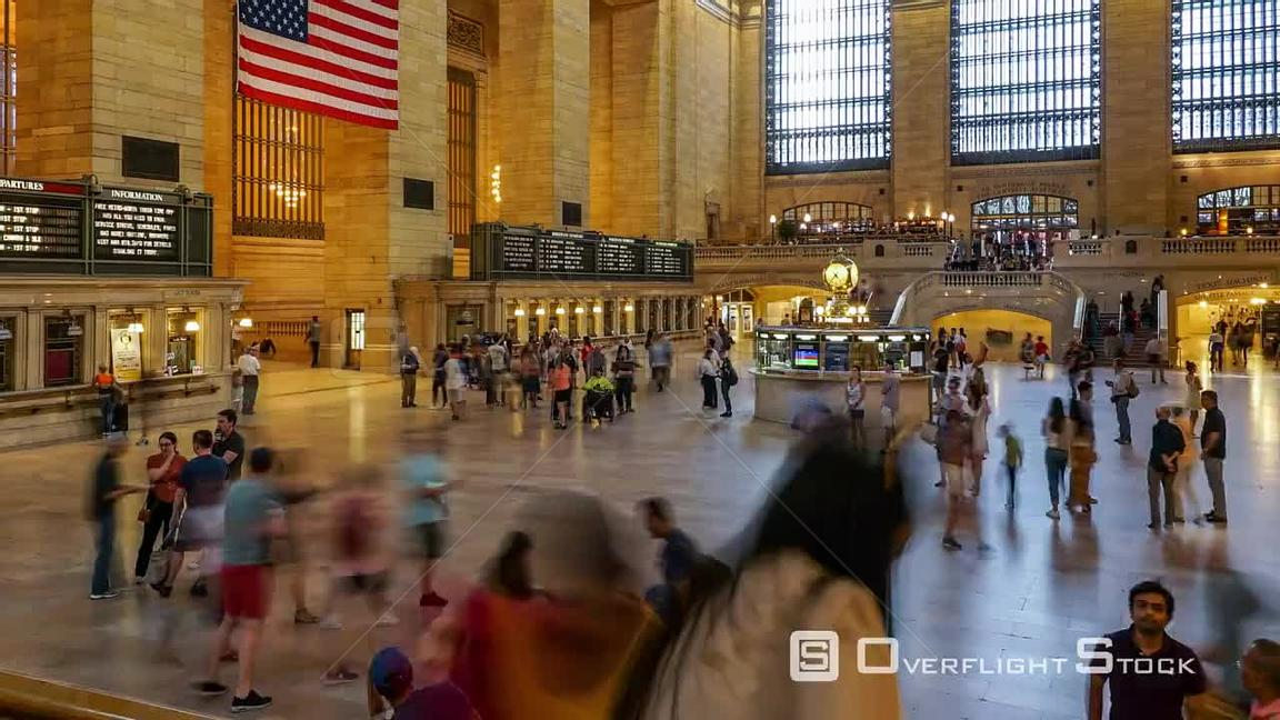 Time lapse at Grand Central Station_In New York City.mov
