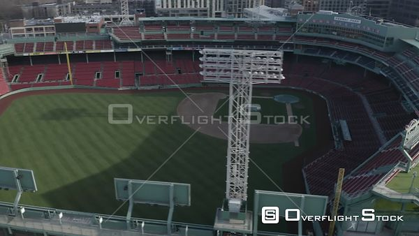 Empty Fenway Park on Opening Day during the COVID-19 Pandemic in Boston, MA, United States (6 of 12)