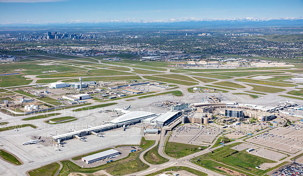 Calgary International Airport Main Terminal