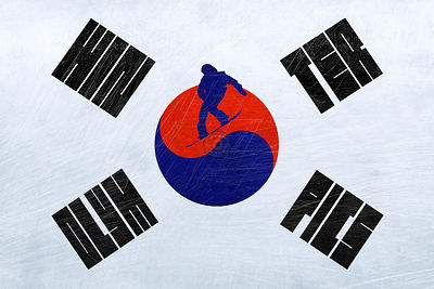 The Winter Olympics in South Korea - Snowboarding.