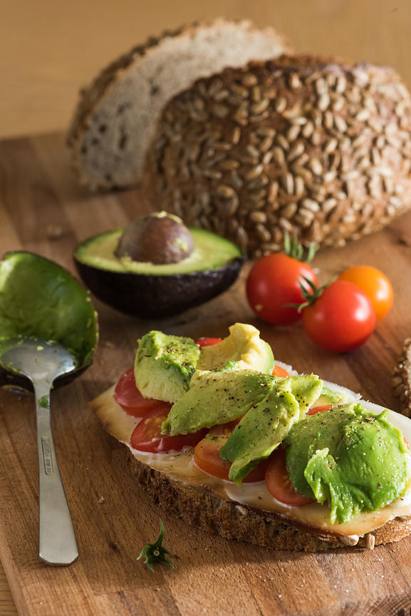 Montreal Food Photographer, South Shore Beverage & Product Photography, Avocado Sandwich