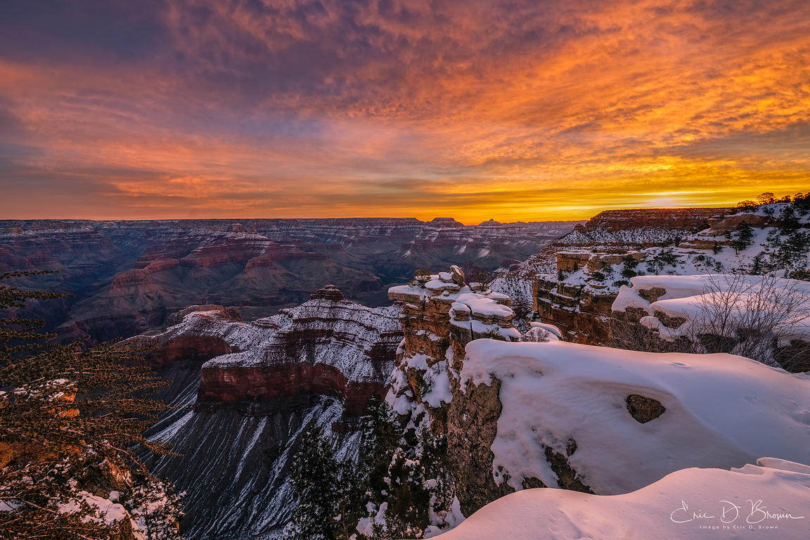 Colors of Sunrise at the Grand Canyon