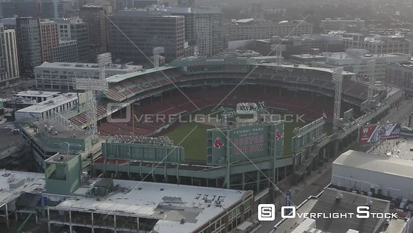 Empty Fenway Park on Opening Day during the COVID-19 Pandemic in Boston, MA, United States (9 of 12)