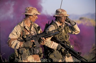 Navy SEALs Desert Training
