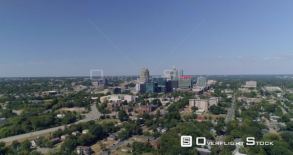 Drone Video Downtown Raleigh North Carolina