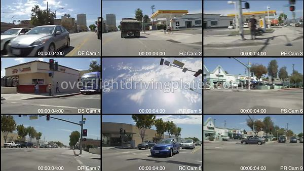 Commercial Residential  Santa Monica California USA - Driving Plate Preview 2012