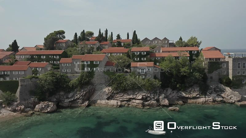 Drone Video of Budva Montengro
