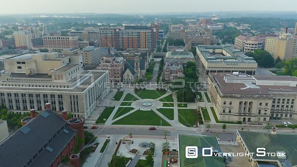 Drone Video Madison, the capital city of Wisconsin