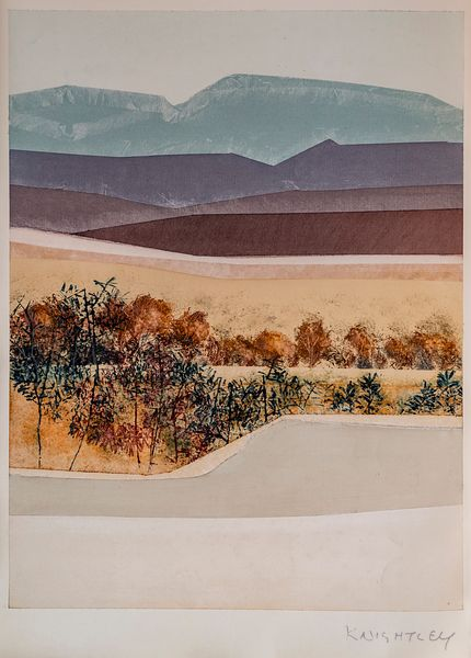 Landscape Painting by Jean Knightley