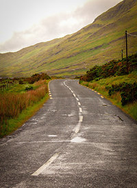 Road to Doolough Lake