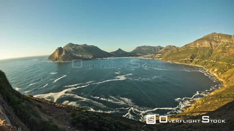 Hout Bay time lapse clip near Cape Town, South Africa.
