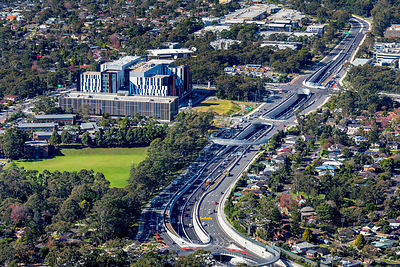 Warringah Road, Frenchs Forest