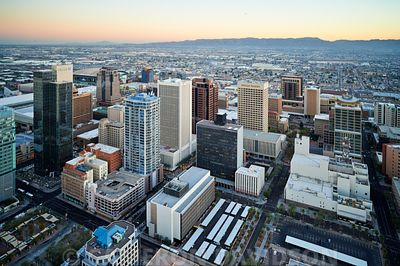 Aerial Downtown Phoenix