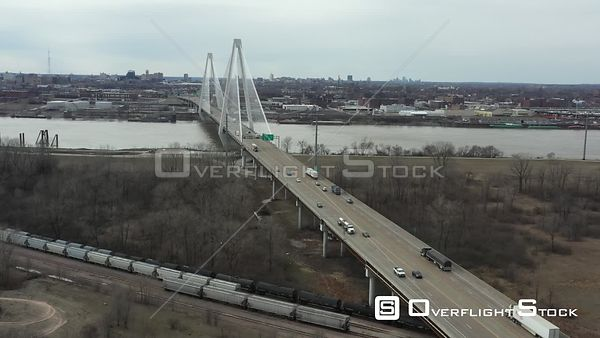Stan Musial Veterans Memorial Bridge St Louis Missouri