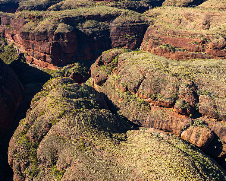 Aerial View of the Bungle Bungles Mountain Range