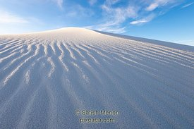 Sand Pattern, White Sands National Park, New Mexico, USA