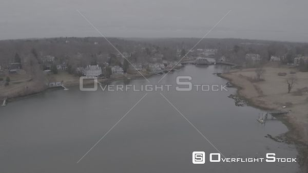 Drone Video Southport Harbor Carter Morse and Goodrich Fairfield Connecticut - V-Log